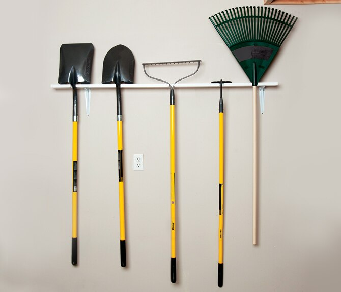 How To Build A Garden Tool Rack In 5 Easy Steps Diy Stanley Tools